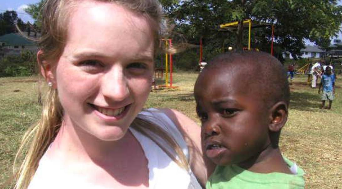Sarah B in Tanzania